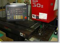 油圧式パンチセットプレスSP30Ⅱ